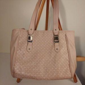Soft Cameo Pink Shoulder Bag by Ellen Tracy
